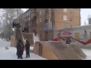Детская зимняя развлекуха