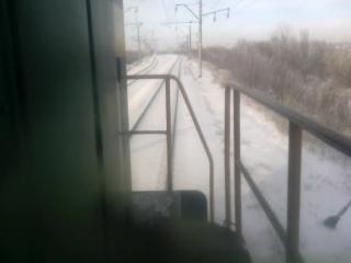 сплотка тепловозов Батайск - РостовГлавный