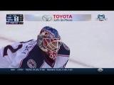 Bobrovsky makes sprawling save to rob Wheeler