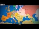 Быстрый урок истории. Как менялись границы в Европе за последние 1000 лет.