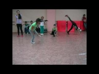 Ученики школы танца
