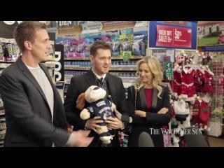 The Vancuver Sun - Лу и Майкл на благотворительном мероприятии Dog For Dog, 18.12.2014
