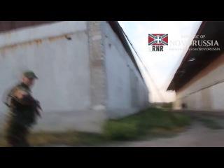 Разведчики армии Новороссии определяют местоположение артиллерии противника. ЛНР 28.08.2014