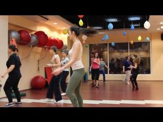Групповое занятие Latina в фитнес клубе Winner, Печатники