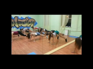 DS_RISE_UP // BOOTY DANCE //открытый урок// тренер Kseniya FIX