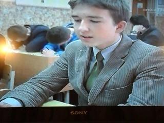 Слуцк ТВ в гимназии