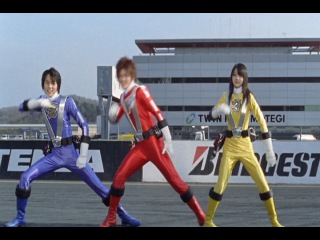 Engine Sentai Go-Onger Clean ED (1 of 15)