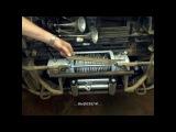 Установка электрической лебёдки в штатный бампер УАЗ Патриот