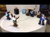 Бал роботов 22.01.15. Роботы-танцоры, часть 1