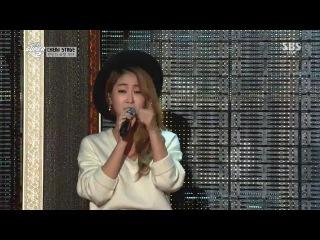 141221 SBS Gayo Daejun - Some : Sunggyu, Sungjae, Soyu & Jung Gigo