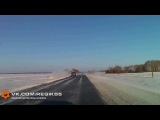 ДТП на трассе «Омск – Тюмень»: джип вылетел в кювет и перевернулся