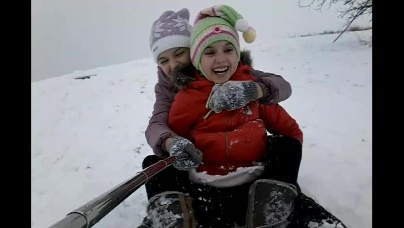 Зимаа!❄Нам весело!😜