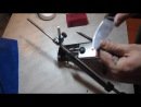 Maxim Sakulevich Делаем нож без электроинструмента 22 - заточка
