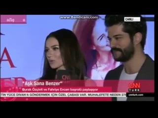 Fahriye EvcenBurak Özçivit - CNN Türk Afiş