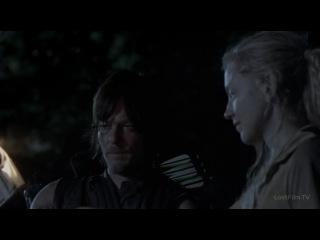 Ходячие Мертвецы (4 сезон 12 серия) - Бет Грин и Дэрил Диксон сожгли дом.