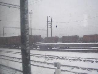 Поезд 111 Харьков-Львов.Отправление со ст.Шепетовка 23.11.2014