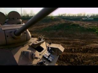 САУ «Фердинанд». Танковая мастерская.