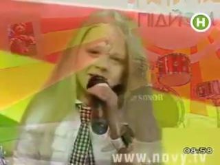Дети таланты поют. Настя Петрик поет в программе Подъём мама
