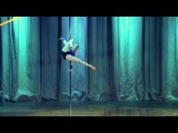 Бугаева Дарья. Категория Artistick pole dance профессионалы. Pole dance battle