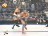 WWF SmackDown! 28.09.2000 - Мировой Рестлинг на канале СТС - Курт Энгл и Крис Бенуа против Игрока и Рока
