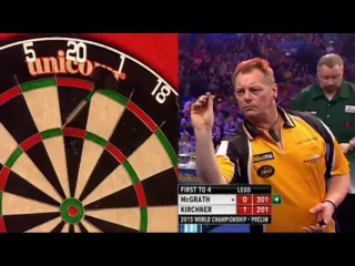 Mark McGrath vs Scott Kirchner (PDC World Darts Championship 2015 / Preliminary Round)