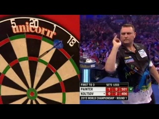 Boris Koltsov vs Kevin Painter (PDC World Darts Championship 2015 / Round 1)