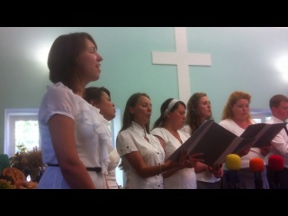 Течёт ли жизнь мирно - O.L.I.N.Choir, Праздник Жатвы, Степногорск