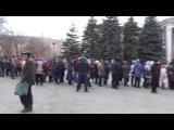 Алчевск 02.11.2014 Алчевск 02.11.2014 выборы под дулом автоматов4 ДК Химиков