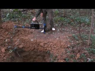 Металлоискатель White's TM 808 тест на глубину
