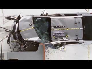 Киа Церато 2014 видео краш тест