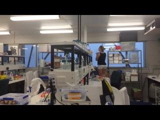 Шторм из окон нашей лаборатории