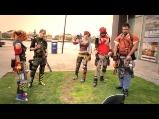 Cosplay - Borderlands - Cosplay Music Video (London Comic Con May 2013)