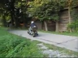 Мотоцикл с двигателем от ваз 2108