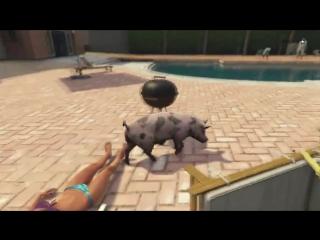 Пасхалка в GTA 5 - Свинья (PS4 / Xbox One) #9
