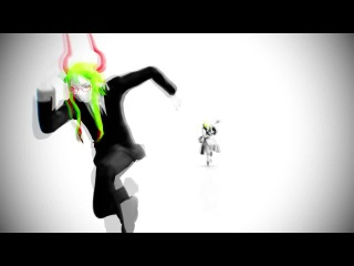 【MMD-Motion Edit TEST】Sherbet Chasing Yosaflame【The Gray Garden Parody】