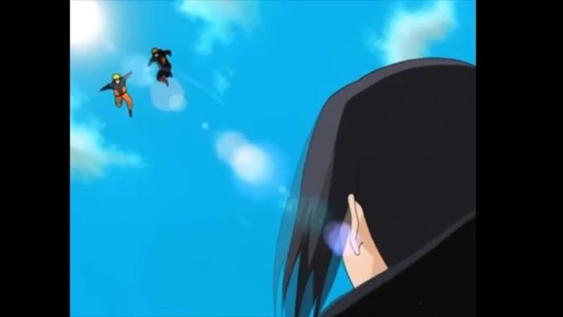 Итачи против Наруто и Какаши