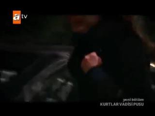 Kurtlar Vadisi Pusu Polat Leyla'yı Kurtarıyor