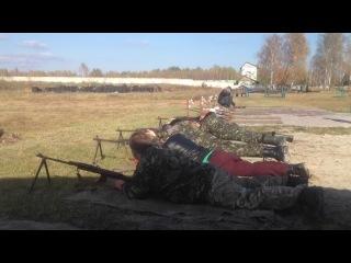 Стрельбы 2014 на Полигоне НацГвардии- 5,45-мм ручной пулемёт Калашникова (РПК-74)