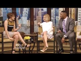Kristen Stewart - Interview - Live! With Kelly amp Michael