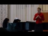 Prokofiev, aria di Natasha Rostova dalla Guerra e Pace