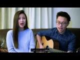 Jessica Koh x Shawn Halim Cover [Eyes, Nose, Lips - Tablo x Taeyang] (karaoke_russub)