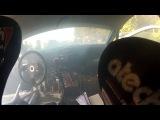 Герой-раллист финиширует на горящей машине
