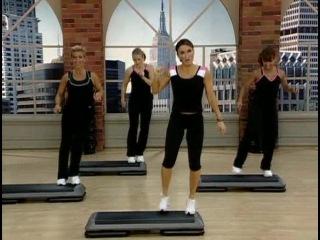 Cathe Friedrich -- STS Shock Cardio -- Athletic Step.