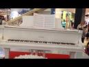 Самоиграющее пианино в Мега центре
