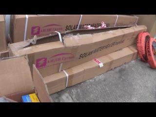 Солнечный водонагреватель  для ГВС и отопления SH-300-36