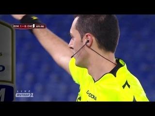 Кyбок Итaлuu 2014-15 / Coppa Italia / 1/8 фuнала / Poма - Эмполu / 2 тайм [720p HD]