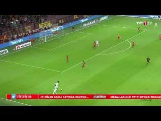 Galatasaray - Akhisar Belediye İlk Yarı Özeti