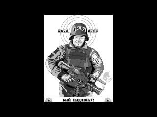 13-11-2014 г. Пореченков и Путин стали мишенью для укрофашистов..
