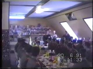 ЗГВ-ГСВГ. Верхняя Нора. 227 Отдельный Батальон Охраны Штаба 8 ГОА. Военная присяга 30.06.1991 г