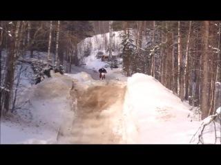Snow Riding! KX250F, YZ250F, KTM 250, YZ125, CRF250R, RMZ450